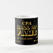CPA Exam Pass Hall of Fame Add Name Joke Gift Coffee Mug