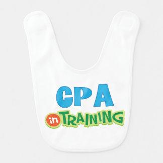 Cpa in Training Kids Shirt Baby Bib