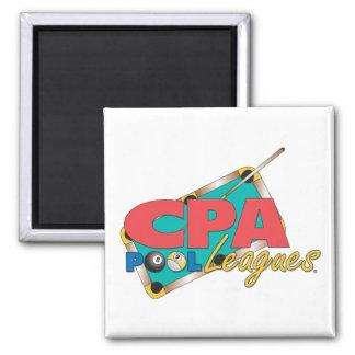 CPA Logo Designs 2 Inch Square Magnet