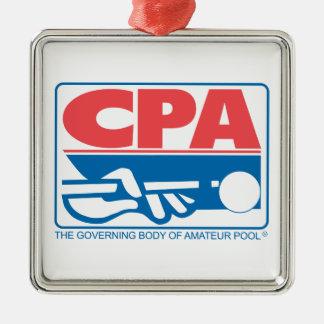 CPA Logo Metal Ornament