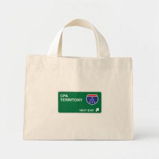 CPA Next Exit Canvas Bags