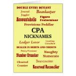 CPA NICKNAMES Congratulations Card