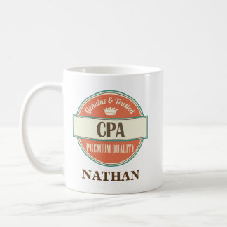 CPA Personalized Office Mug Gift
