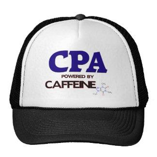Cpa Powered by caffeine Trucker Hat
