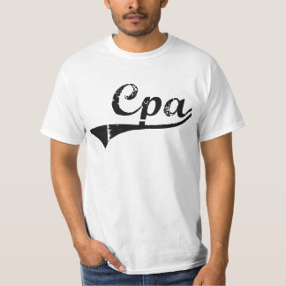 Cpa Professional Job Tee Shirt