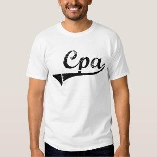 Cpa Professional Job Tshirts