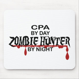 CPA Zombie Hunter Mouse Pad
