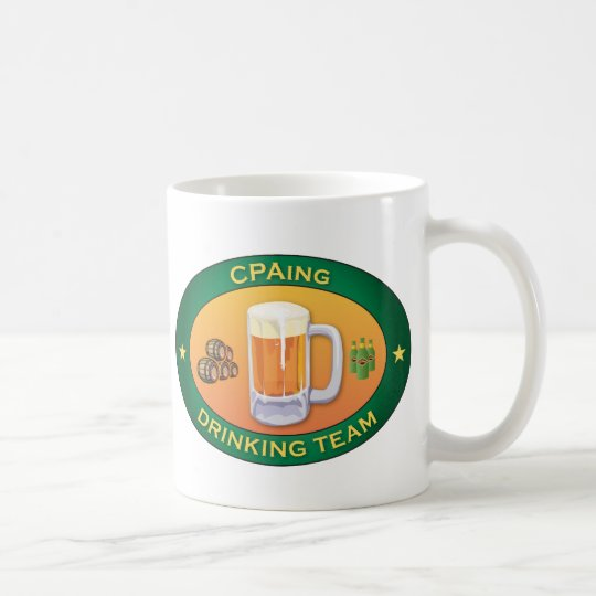 CPAing Drinking Team Coffee Mug