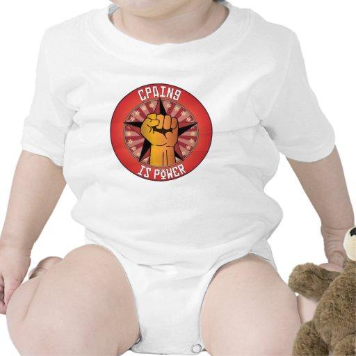 Cpaing es poder traje de bebé
