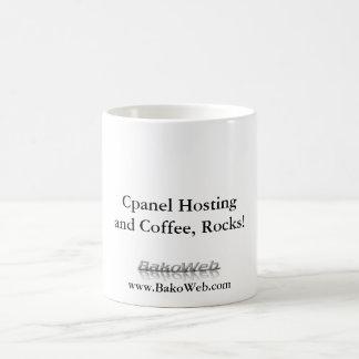 Cpanel Hosting and Coffee, Rocks!, Mug