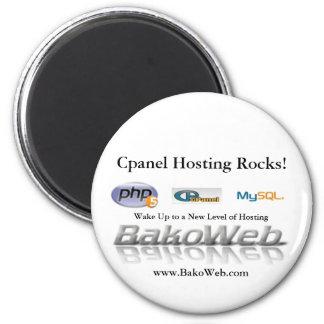 Cpanel Hosting Rocks Magnet