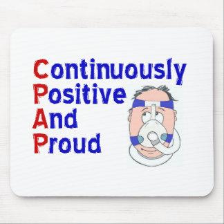 CPAP = continuamente positivo y orgulloso Tapetes De Ratones