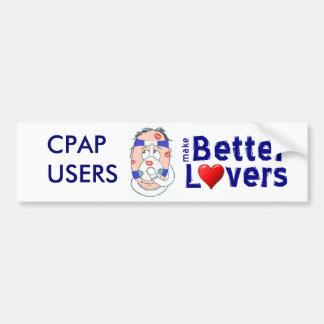 CPAP Users Make Better Lovers Bumper Sticker