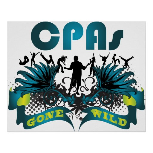 CPAs Gone Wild Print