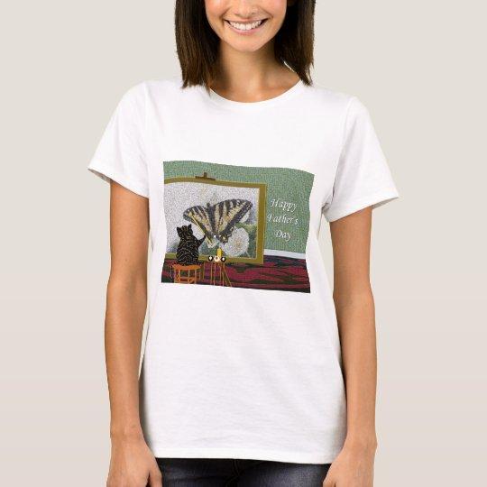 cpButterflyFatDay T-Shirt