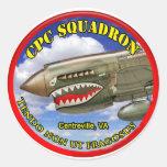 CPC Squadron Merchandise Round Sticker