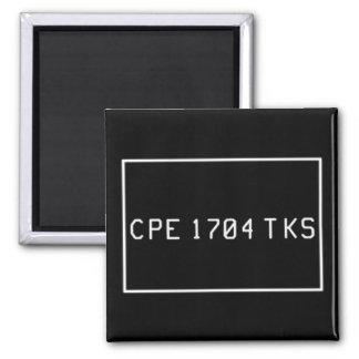 CPE 1704 TKS 2 INCH SQUARE MAGNET