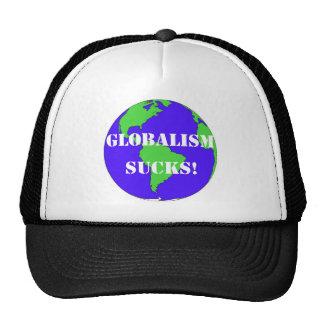 CPGlobalismSucksLg Trucker Hat