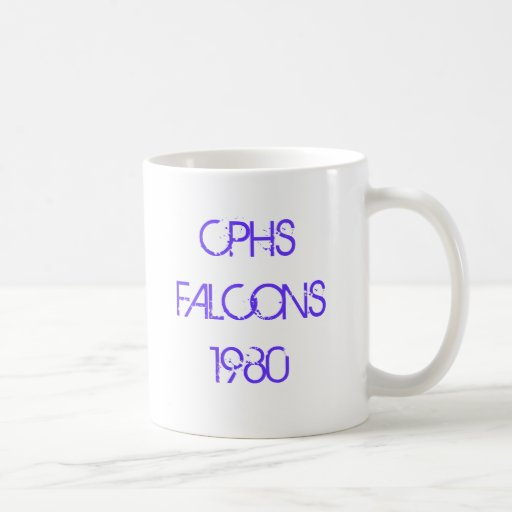 CPHS FALCONS 1980 COFFEE MUGS