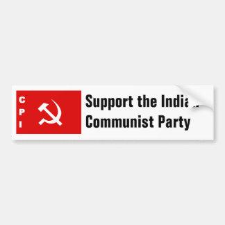 CPI-flag communist party of India Bumper Sticker