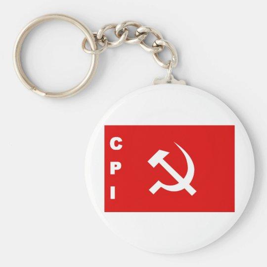 CPI-flag communist party of India Keychain