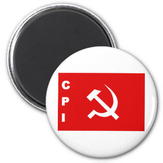 CPI-flag communist party of India Refrigerator Magnets