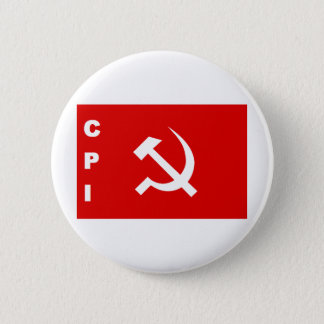 CPI-flag communist party of India Pinback Button