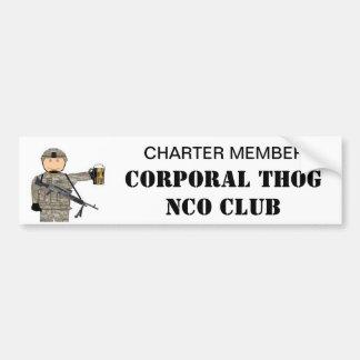 CPL THOG NCO CLUB BUMPER STICKER