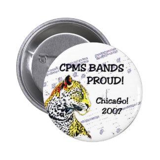 CPMS Bands Proud! ChicaGo! IIII Pinback Button