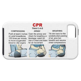 CPR - Compañero-Ambiente del caso del iPhone 5 Funda Para iPhone SE/5/5s