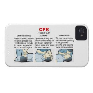 CPR - Compañero de la caja de Blackberry Carcasa Para iPhone 4