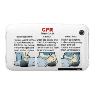 CPR - compañero del caso del iPhone 3 iPhone 3 Case-Mate Coberturas
