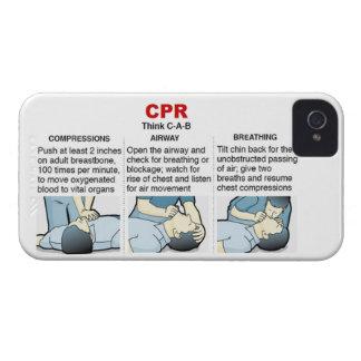 CPR - compañero del caso del iPhone 4 Funda Para iPhone 4