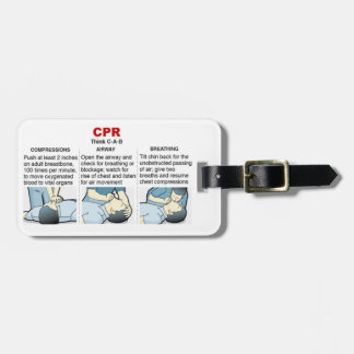 CPR - Luggage Tag (Front)