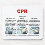 CPR - mousepad Tapetes De Ratón