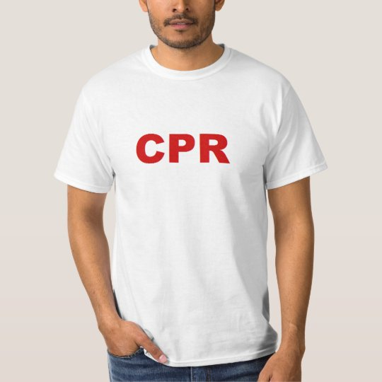 CPR shirt
