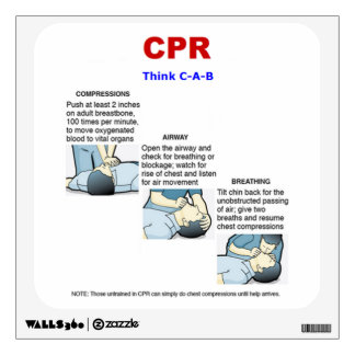 CPR - Wall Decal