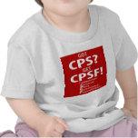¿CPS conseguido? ¡Consiga CPSF! Camisetas