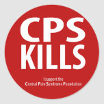 CPS KILLS CLASSIC ROUND STICKER