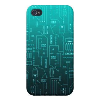 cpu : circuit board iPhone 4/4S cover