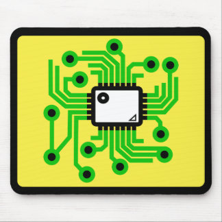 CPU del chip de ordenador Tapete De Raton