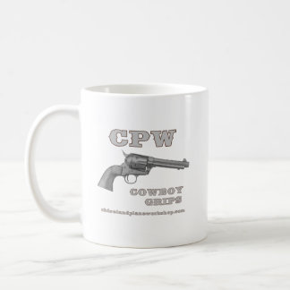 CPW COWBOY GRIPS MUG