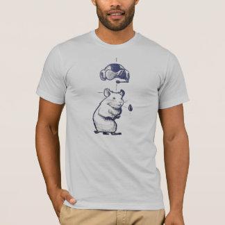 Cr48 Hamster and Rocket T-Shirt