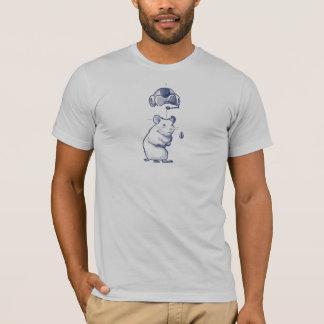 Cr48 Hamster & Rocket T-Shirt