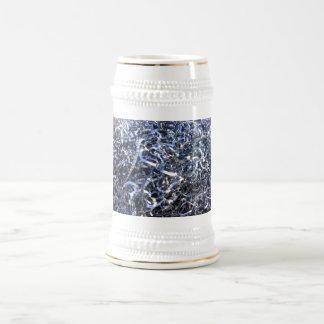 Cr antiguo oxidado del arte de la moda del estilo jarra de cerveza