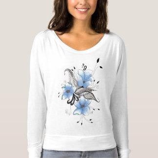 (CR) Bella+Canvas flowing shoulder-free shirt