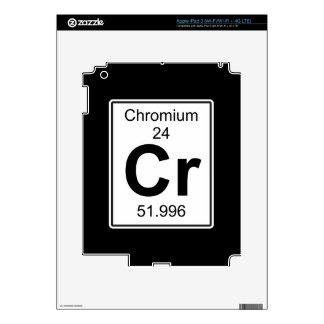 Cr - Chromium iPad 3 Decal