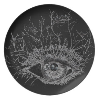 (CR) Collection melamine plate