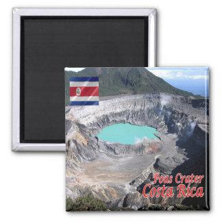 CR - Costa Rica - Volcan  Poas Magnet