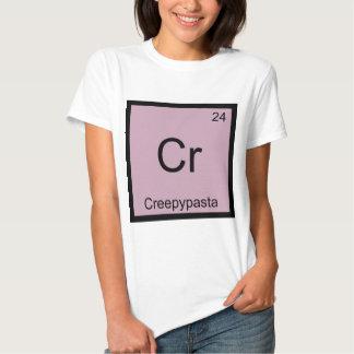 Cr - Creepypasta Meme Chemistry Periodic Table Tshirt